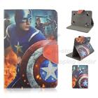 "8"" inch android tablet stand case folios popular cartoon super hero for kids"