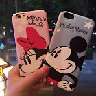 Cute cartoon disney mickey minnie bow pink soft case cover for iphone 6 6S plus