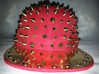 NEW URBAN STUDDED SPIKE SNAPBACK  FLAT PEAK  BLING HIP HOP CAP HAT,