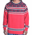 Nautica Men's Holiday Heavy Weight Pull Over Sweater
