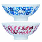 JAPAN HELLO KITTY CERAMIC BOWLS WITH GIFT BOX - 2 COLOR