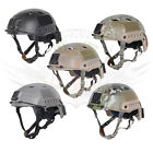 FMA AIRSOFT TACTICAL FAST STYLE BASE JUMP HELMET,BLACK,TAN,GREEN DIAL ADJUST
