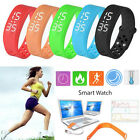 Smart Watches Sports Watches Unisex Tracker Sport Bracelet Wrist Watch Pedometer