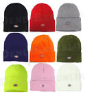DICKIES BASIC KNIT Cuffed Beanie Men's Cap Uniform New Work