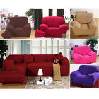 Furniture Protector Corner Sofa L-shaped Couch Stretch Cover Throw 1 2 3 Seater