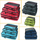 Clothing Packing Cubes-Travel Kit Organizers Compartment Storage Cosmetic 3 Bag