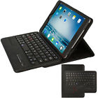 Apple iPad Mini 4 3 2 1  Bluetooth Keyboard PU Leather Case with Stand