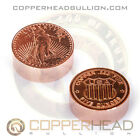 1 x 5oz Pure Copper Round St Gauden American Eagle Coin Bar Bullion 10-20-100