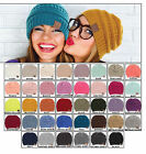 New Trendy C.CThick Slouchy Knit Beanie Oversize Warm Cute Cap Unisex Hat Solid