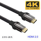 High Quality HDMI Cable v2.0 4K 60Hz 3D 1080P- HDTV LCD LED XBOX PS3 PS4 BLURAY