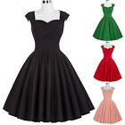 Countryside Housewife 50s 60s Swing Pinup Vintage Party Dresses Plus