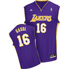 NBA Pau Gasol LA Los Angeles Lakers Basketball Shirt Jersey Vest