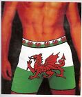 Welsh Wales Mens Trunk Fit Boxer Shorts
