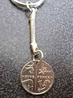 UK LUCKY 5p  Five Pence Coin Keyring Birthday Anniversary 2008 - 2016