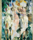 "ROBERT DELAUNAY ""The Three Graces"" beauty charm ethereal CHOOSE YOUR CANVAS SIZE"