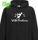 V8 Problems car Petrol race truck hoodie over   for sale  Wirral