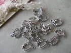 20 x Silver Tibetan Vampire Fangs Metal Charms,Teeth Pendant,Jaws,jewellery