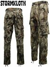 Stormkloth Mens Nat Gear Camouflage Camo Waterproof Trousers - Hunting, Fishing