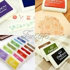 Cute Rubber Stamps Craft Ink Pad Stamps Oil Finger Print Paper Wood Fabric Craft