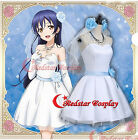 Love live Cosplay Costume wedding dress cosplay Umi Sonoda Cosplay Costume Daily
