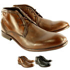 Mens H By Hudson Cruise Leather Lace Up Shoes Smart Ankle Boots UK Sizes 7-13