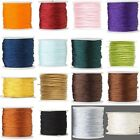 1mm Imitation Silk Macrame Beading Cord for Beads & Jewelry Sold by the Yard