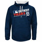 Majestic Detroit Tigers Navy Authentic Collection Team Choice Streak Hoodie