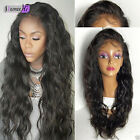 Sexy Queen Loose Wave 100% Brazilian Human Hair Full/Front Lace Wig Density 130%