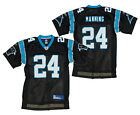 Reebok NFL Men's Carolina Panthers Ricky Manning # 24 Replica Jersey - Black
