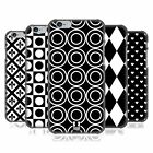 HEAD CASE DESIGNS BLACK AND WHITE PATTERNS BACK CASE FOR APPLE iPHONE PHONES