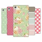 HEAD CASE DESIGNS FRENCH COUNTRY PATTERNS HARD BACK CASE FOR SONY PHONES 1