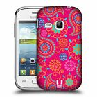 HEAD CASE DESIGNS PSYCHEDELIC PAISLEY HARD BACK CASE FOR SAMSUNG PHONES 5