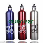 3ColourOutdoor Sport Bike Bicycle Cycling Aluminum Alloy Water Bottle Kettle Cup