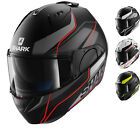 Shark Evo-One Krono Flip Front Motorcycle Helmet Pinlock Bike Modular Crash Lid