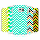 HEAD CASE DESIGNS NEON CHEVRON SOFT GEL CASE FOR SAMSUNG PHONES 1