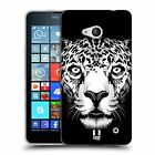 HEAD CASE DESIGNS BIG FACE ILLUSTRATED SOFT GEL CASE FOR MICROSOFT PHONES