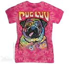 New The Mountain Pug Luv Womens T Shirt