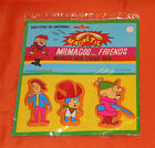 vintage MR. MAGOO AND FRIENDS MAGNETIC PUFFY STICKERS MIP new/sealed