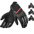 Rev It Neutron 2 Leather Motorcycle Gloves Mens Short Cuff Biker Summer Vented
