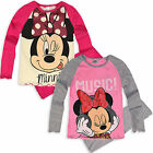 Girls Disney Minnie Mouse Pyjamas Kids Long Sleeve Pjs New Age 3 4 6 8 Years