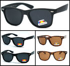 Retro Polarized Men Women Classic Wayfarer Spring Hinge Sunglasses 3 Color Avail