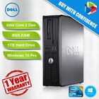Dell Optiplex 755/760 Core 2 Duo 2.4GHz - 2.8GHz 8GB 1TB DVD WIN 10 Pro 64Bit