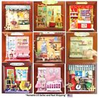 Внешний вид - Dollhouse Miniature DIY Kit 3D Picture Frame Wall Decoration with Room Scene
