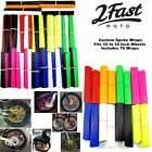 "2FastMoto Spoke Wrap Kit Covers Skins Wraps 10"" to 16"" Rims Kawasaki $14.49 USD"