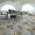 Reclaimed Rustic Blue Wood Effect Porcelain Wall/Floor Tile 600x150x11mm 5-10Sqm