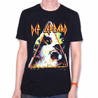 Def Leppard T Shirt Hysteria 100% Official Classic 80's Rock Shirt Free UK Post
