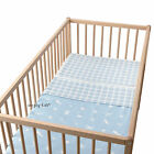 IKEA Infant Nursery Crib Bedding Vandring Skog Blue Duvet Set Duvet Quilt Cover