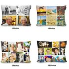 Personalised Photo Montage Collage Cushion Pillow Birthday Valentines Gift