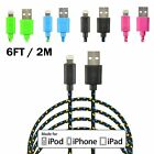 [Apple MFi Certified] 6FT Long Lightning to USB Cable for iPhone 5 6 6s Plus