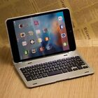 Metal Wireless Bluetooth Keyboard+Slim PC Shell Cover Case For ipad mini 1/2/3/4